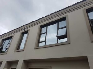 4 Opener Bronze Aluminium Window