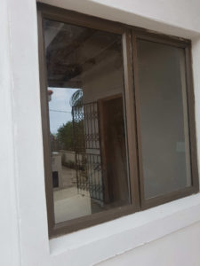 Installed Aluminium Window